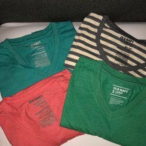 Bundle of 4 Short-Sleeve Tees